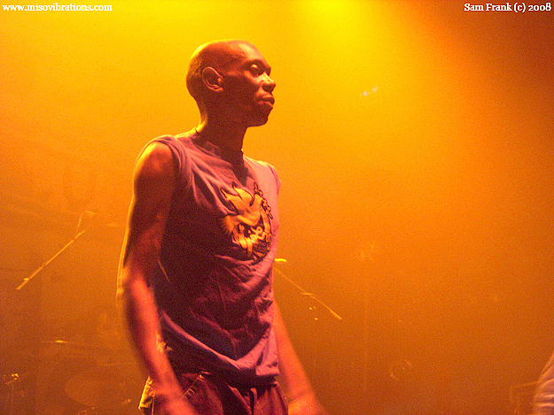 Maxi Jazz of Faithless in NYC
