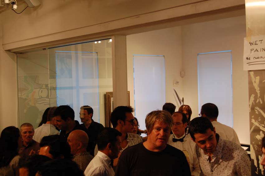 Beautiful Burnout: The Art of Underworld @ The Jacobson Howard Gallery, NYC [Photo by Sam Frank (c) 2008] [Email: sam.frank@misovibrations.com]