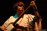 Japanese Folk Music Relflected on Prism