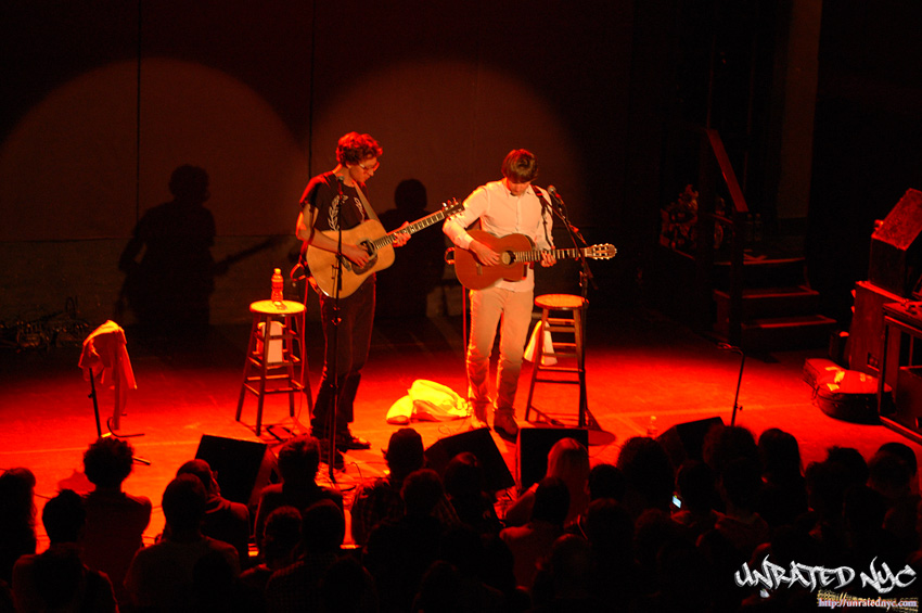 "Kings Of Convenience Celebrate ""Dependence"" in NYC"
