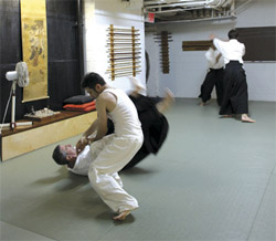 Stepping Up to Aikido: A Martial Art without the Fight