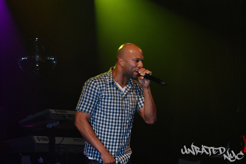 Common Gets New York 'Just Wright' For Movie Premiere