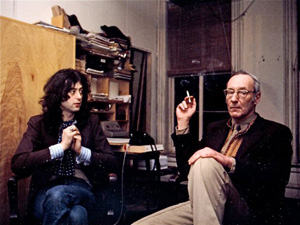 William Burroughs covers Led Zeppelin in 1975