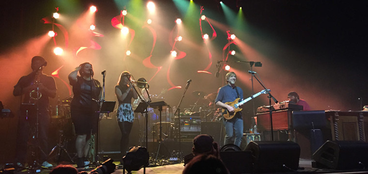 Trey Anastasio Band at the Fox Theatre in Oakland, CA