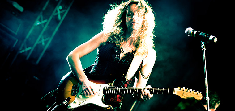 Guitar Luminary, Ana Popovic Announces 'TRILOGY'